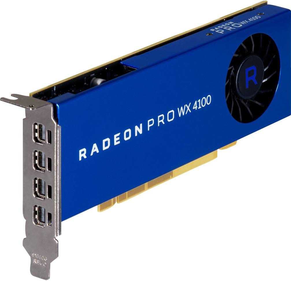 HP SCHEDA GRAFICA AMD RADEON WX 4100 DA 4 GB (AMD RADEONPRO WX4100 4GB PCI-E X16