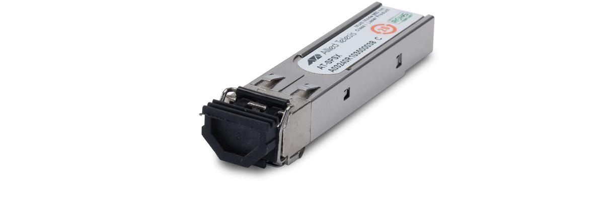 5129021-Allied Telesis AT-SPSX convertitore multimediale di rete 1250 Mbit/s 850